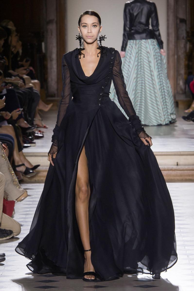 Julien Fournié Couture Fashion Show in Paris Fall Winter 2014 collection