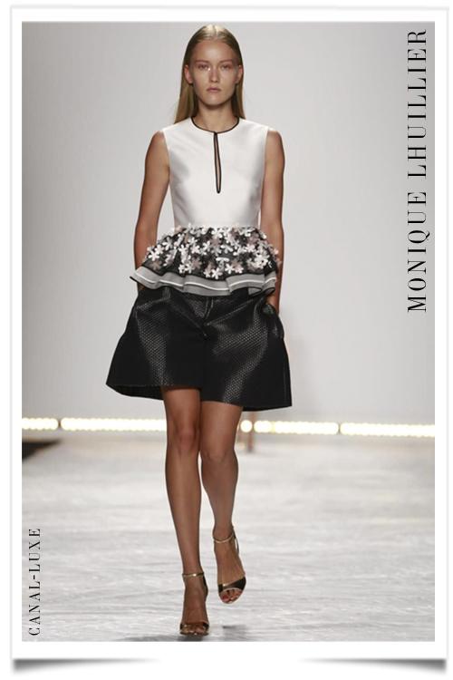 Monique Lhuiller Ready to Wear Spring Summer 2015 in New York