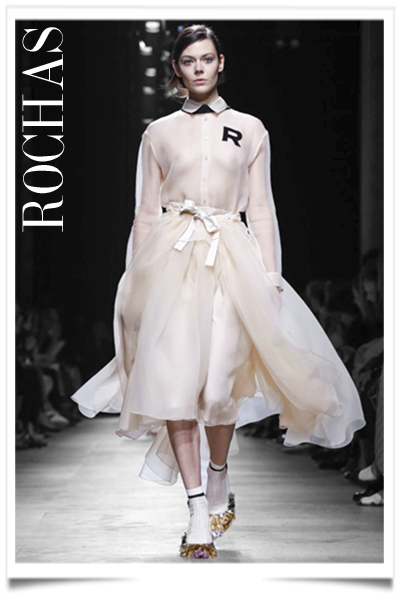 Rochas, Ready to Wear Spring Summer 2015 Collection in Paris